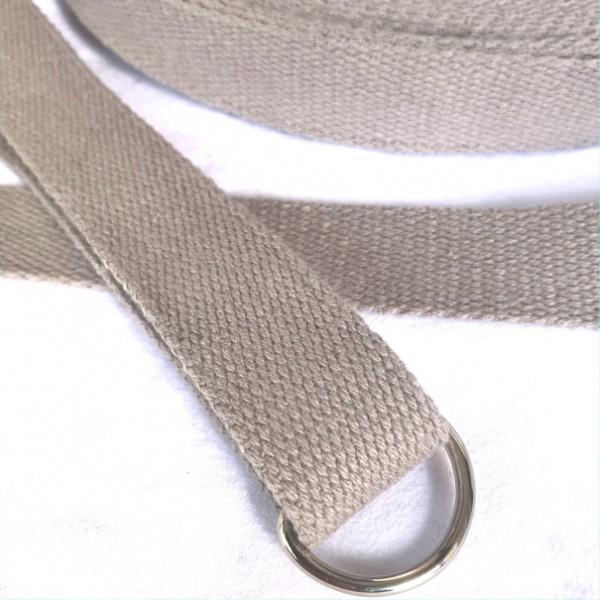 BW-Gurtband, 2,5cm breit, hellgrau